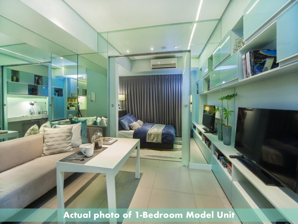Artist interpretation, 1 bedroom, 100 West Makati by FILINVEST