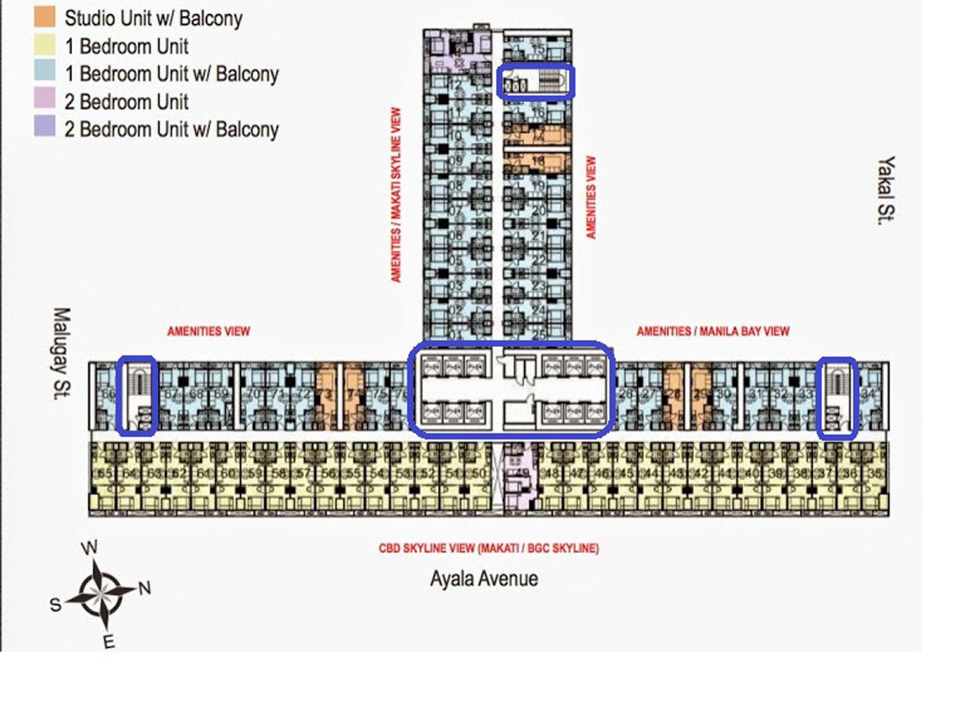 菲律宾房产网 Smdc Air Residences Makati