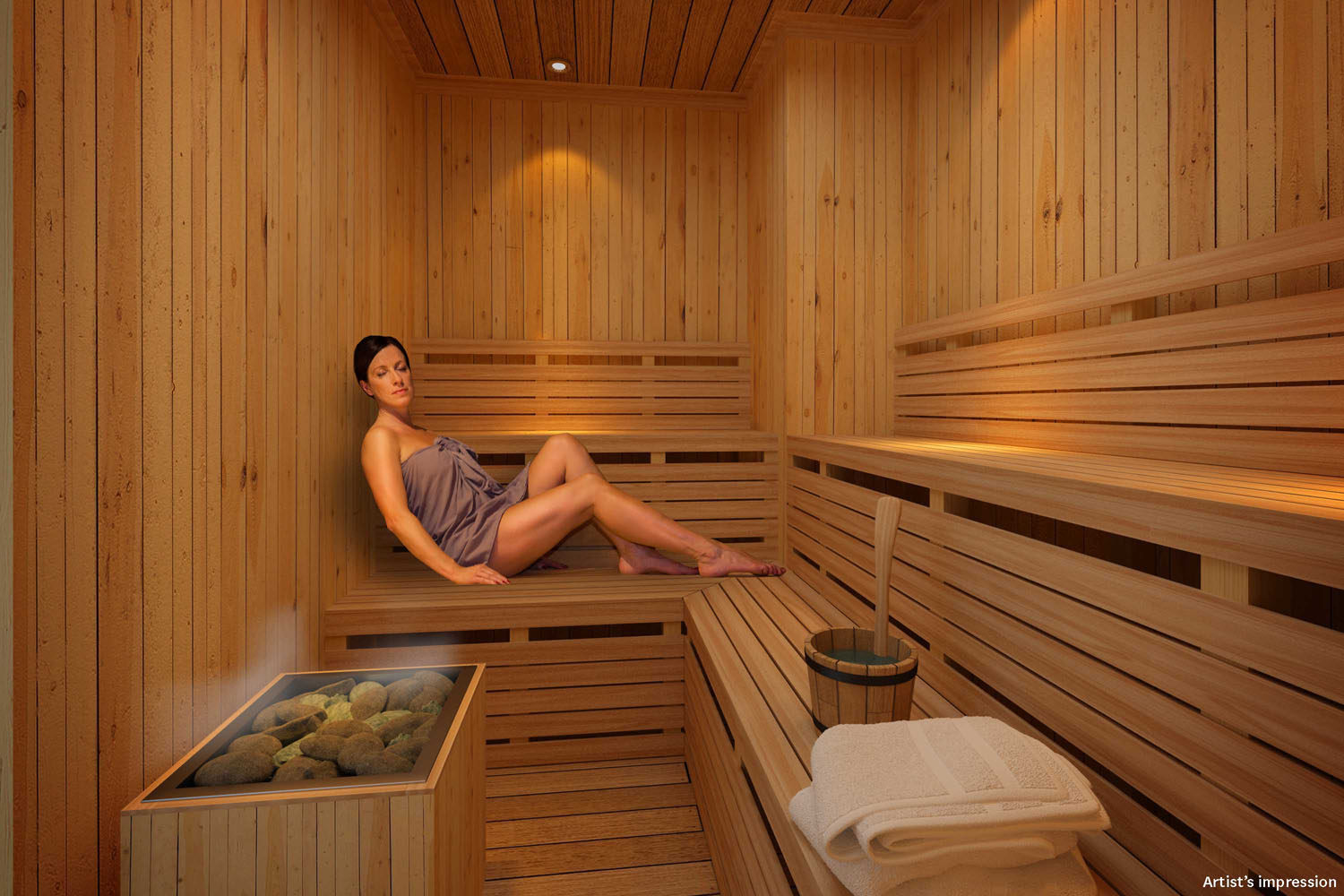 Greenbelt Hamilton Tower 2 - SAUNA