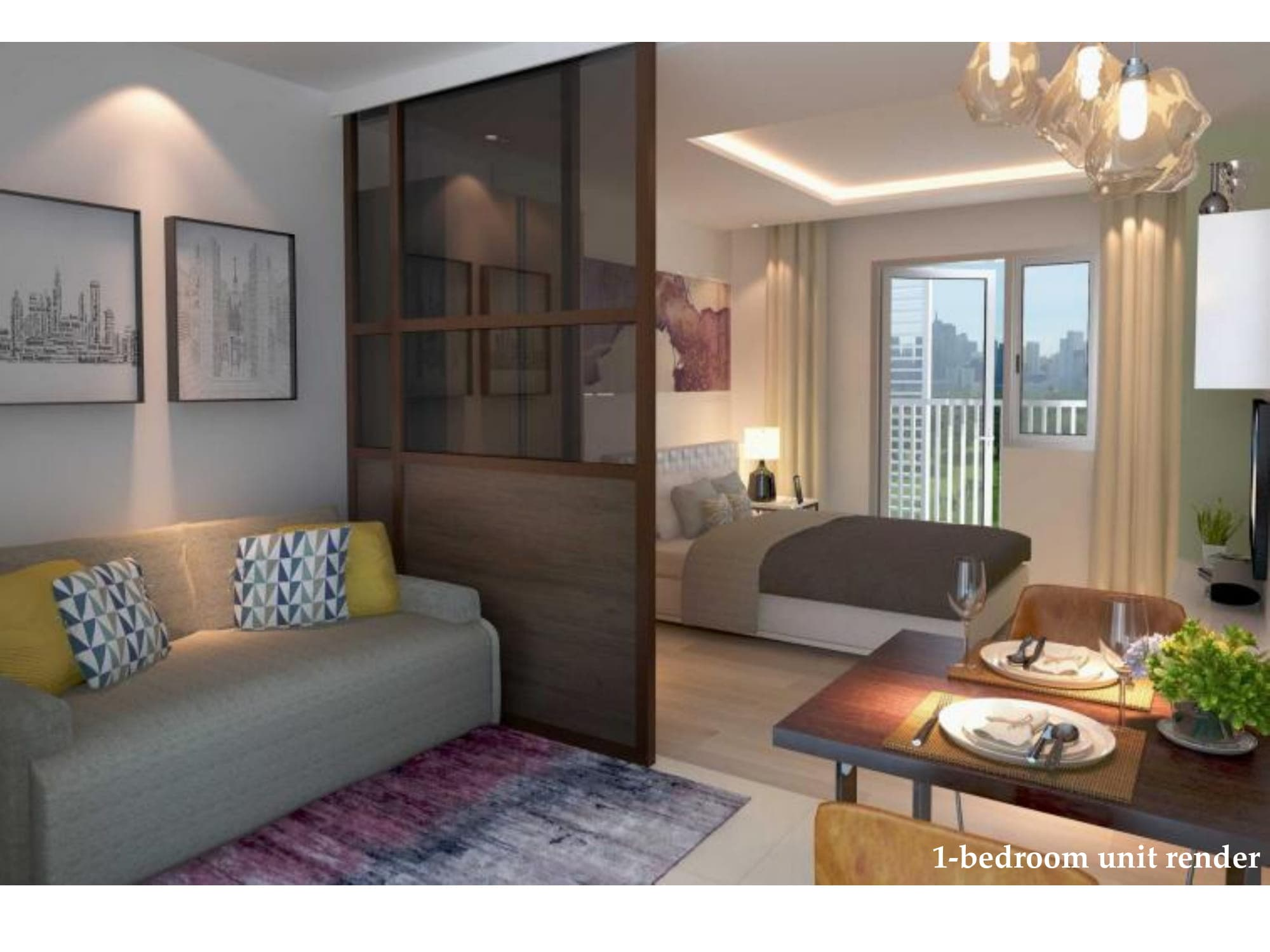 1 BR - Park McKinley West by MEGAWORLD