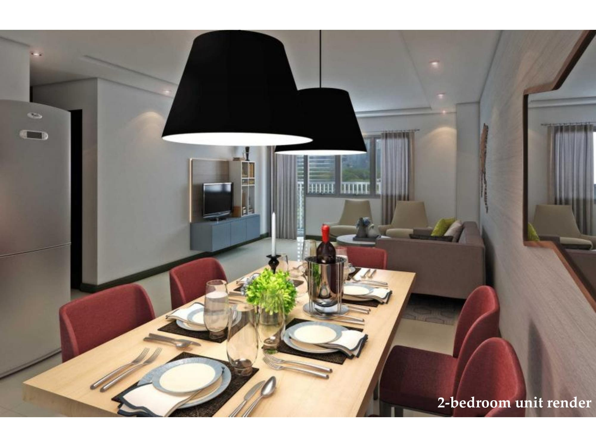 2 BR - Park McKinley West by MEGAWORLD