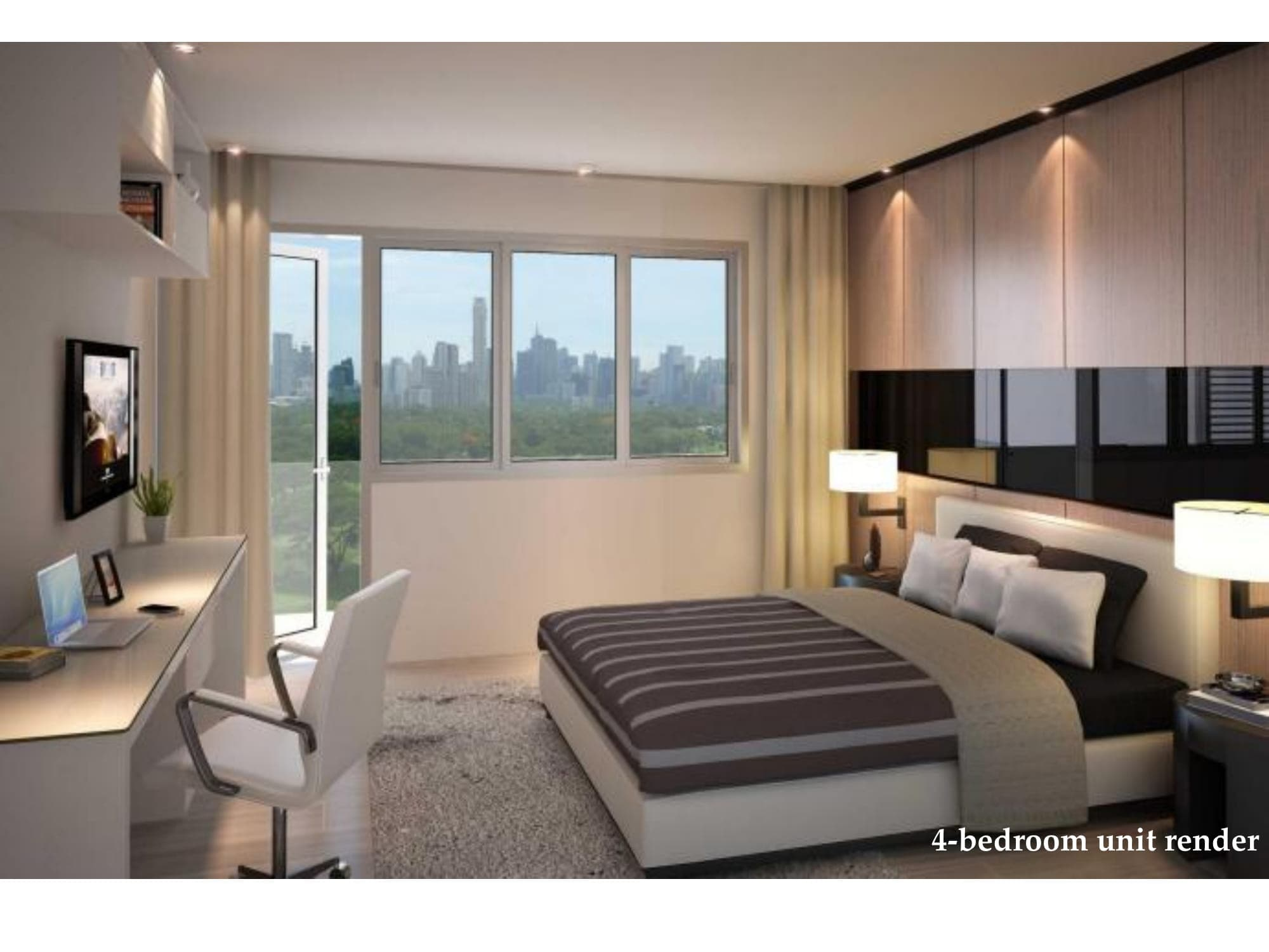 4 BR - Park McKinley West by MEGAWORLD