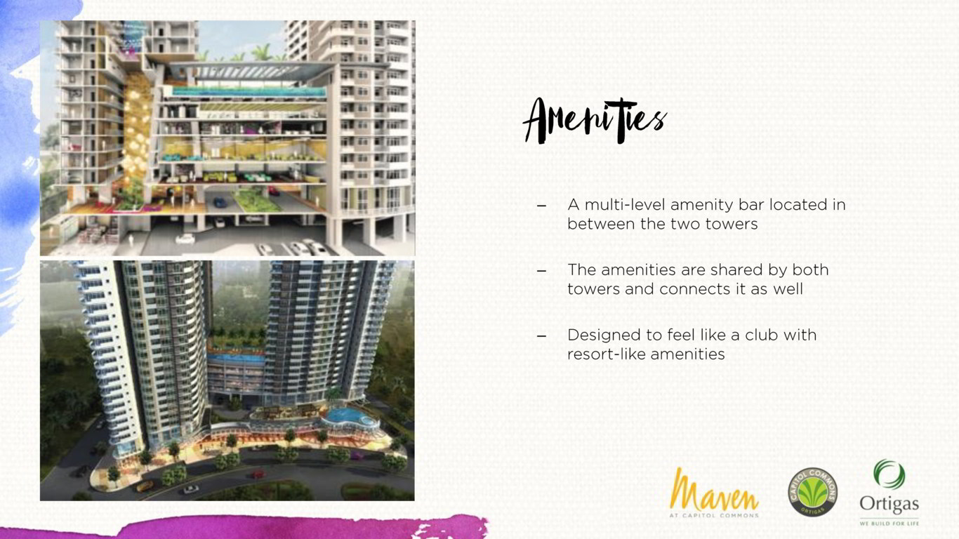 THE MAVEN TOWER BY ORTIGAS AND CO