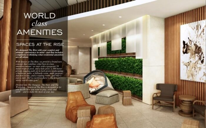 THE RISE MAKATI -  AMENITIES