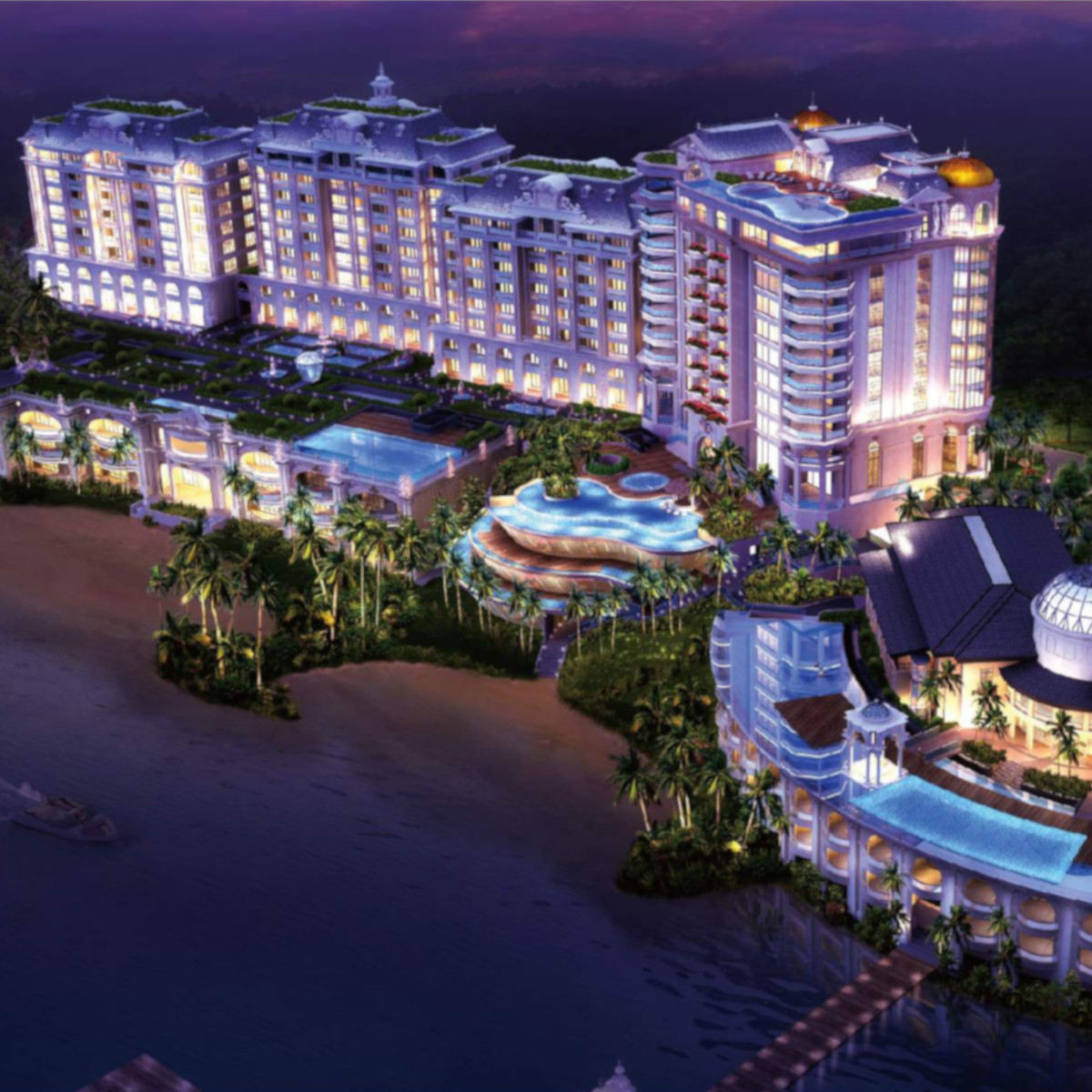 TRIBOA MAJESTIC BAY - the Ultra-high residential destination at Subic Bay - http://FLBFANG.COM